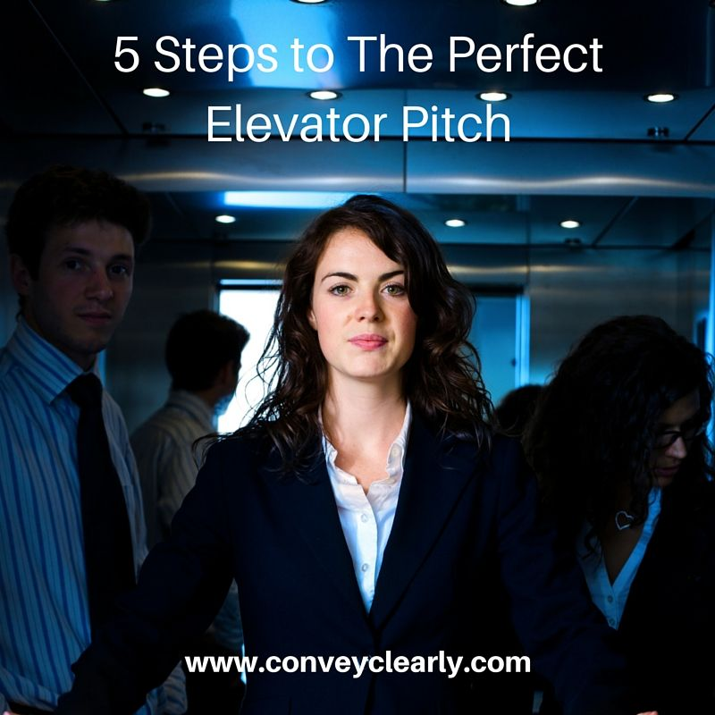 Perfect elevator pitch