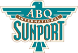 ALBUQUERQUE INTERNATIONAL SUNPORT logo