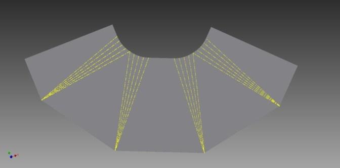 cone flat form