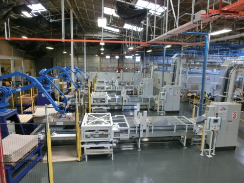 Canline - Palletising for cans aerosols