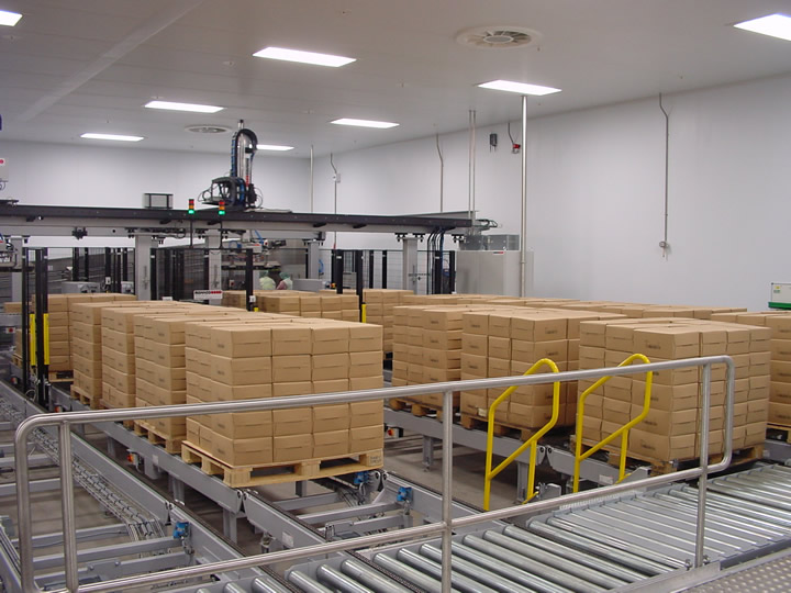 Rohaco Palletiser for boxes