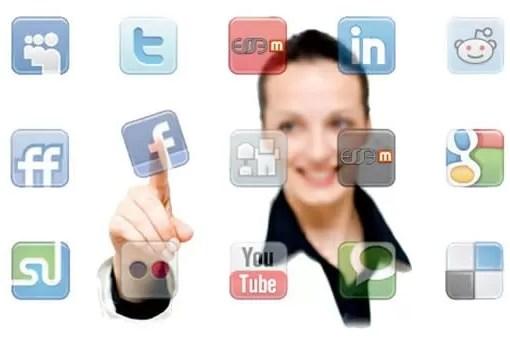 Perfil nas redes sociais
