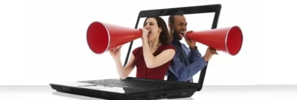 Propaganda na internet com foco no sucesso
