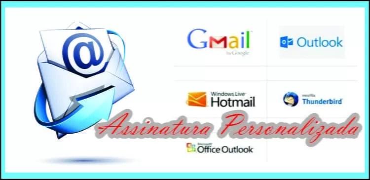 Como criar assinatura personalizada de e-mail no Outlook