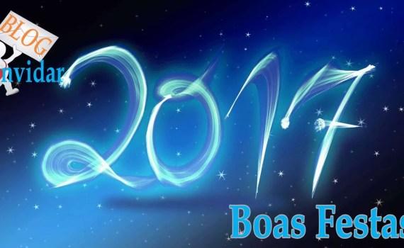 Boas festas e feliz 2017