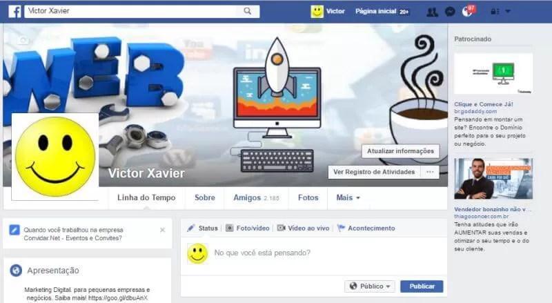 Como anunciar grátis no Facebook utilizando seu perfil naturalmente