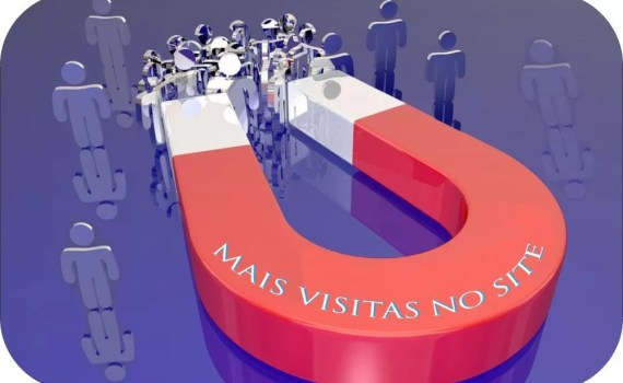 Mais visitas no site