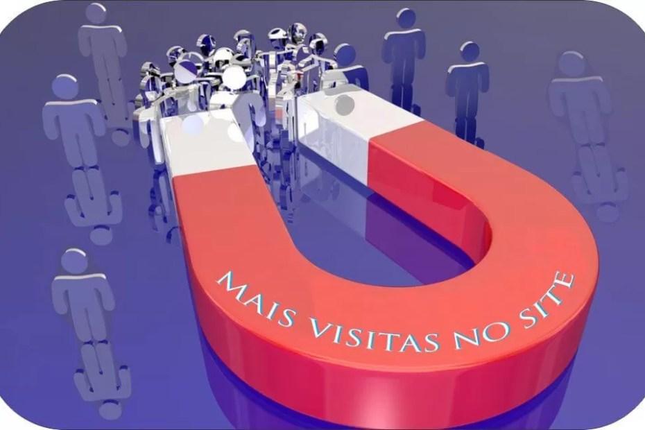 Mais visitas no site