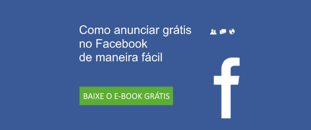 Táticas de marketing online - Como anunciar grátis no facebook e-book