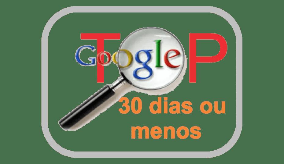 E-book - Primeira Página do Google em 30 Dias