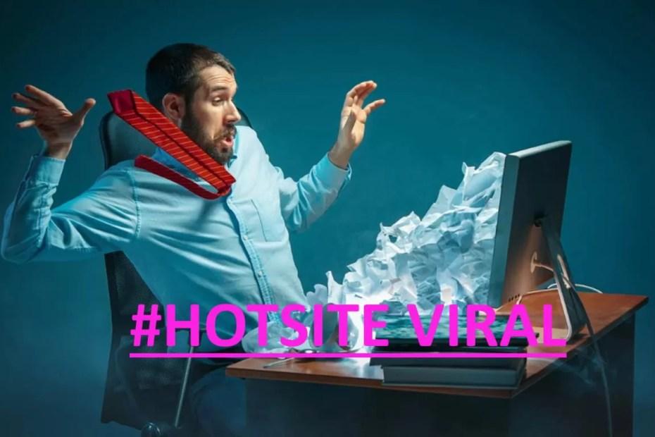 Hotsite de anúncio viral marketing