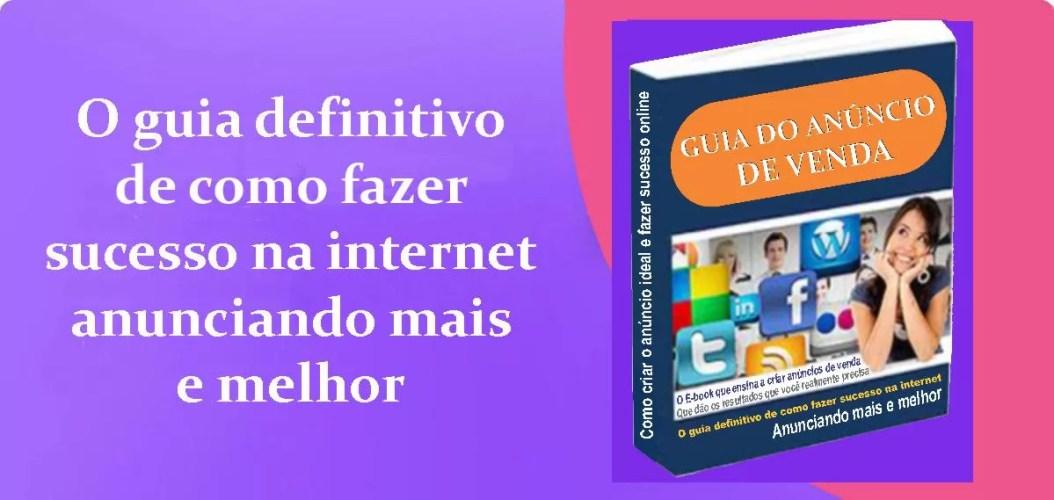 E-book Guia do anúncio de venda