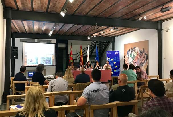 Presentación del proyecto CONVIVE LIFE en las I Jornadas de Patrimonio Europeo de Cantabria