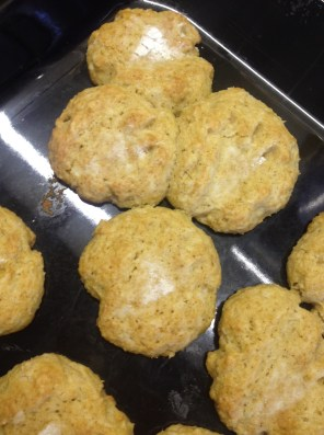Las galletas con¿huellas de dinosaurio?