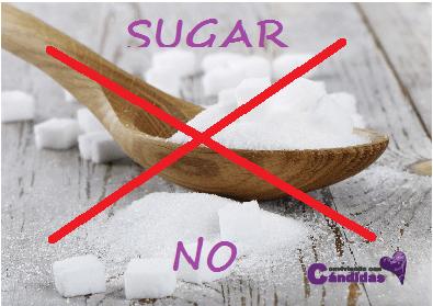 Edulcorante natural sustitutos del azucar para candidiasis