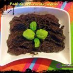 Paté de aceitunas negras casero