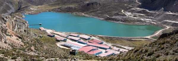 Campamento de la minera quenuales