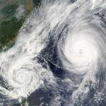 台風20号(2018)の進路予想や米軍データは?名古屋への上陸はいつ?