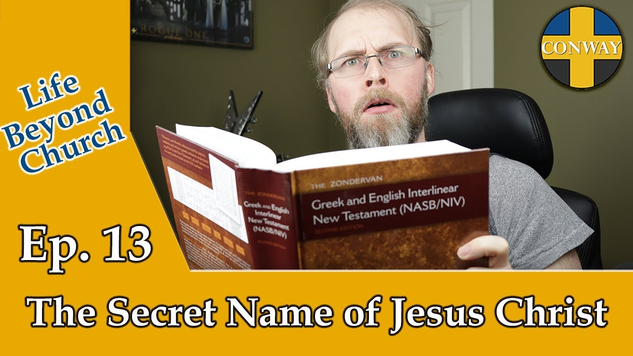 The Secret Name of Jesus Christ