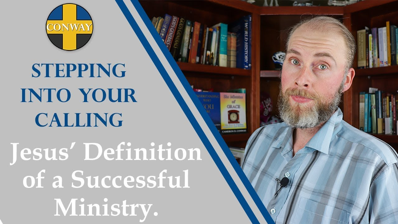 Jesus' Definition of a Successful Ministry
