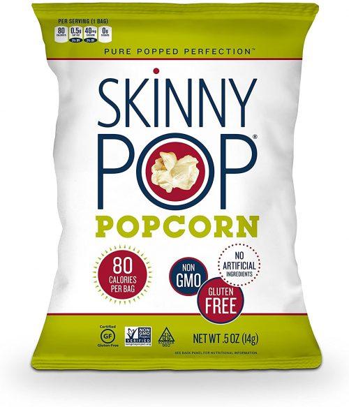 Skinny Pop 100-calorie Popcorn Bags