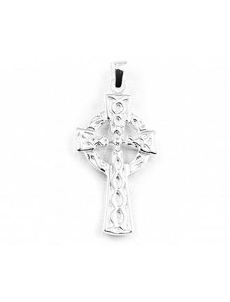 Gents Silver Celtic Cross