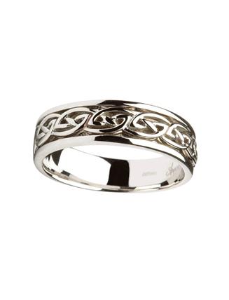 Gents Celtic Wedding Ring 004