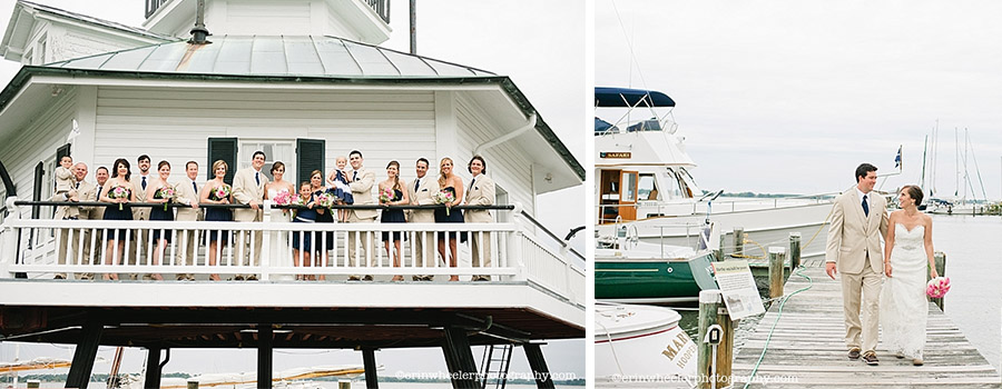 chesapeake maritime museum wedding, unconventional wedding md and de, st. michaels wedding