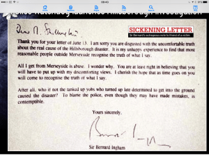Hillsborough The 96 Bernard Ingham Thatcher Police lies