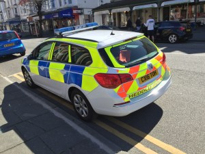 North Wales Police Illegal Parking