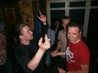 Yvo Joris en Dimitri dansen in Dusseldorf