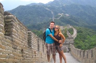 Wandelen over de Chinese muur
