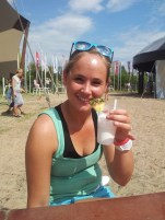 PinaColada Cocktail om Lowlands te starten!