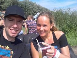 Ice Tea bij de Lima in de zon