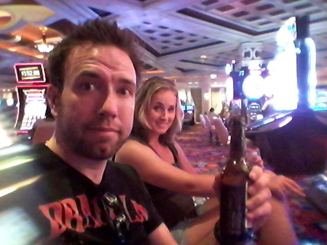 Gok de klok rond in Las Vegas