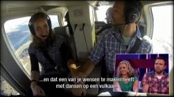 Helikoptervlucht maken, IJsland nr 4. Puur geluk, RTL4, Endemol, Staatsloterij, IJsland, Dimitri, Inge van Dillen