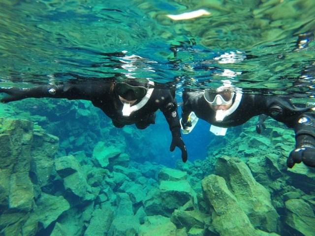 Snorkelen in de Silfra-kloof