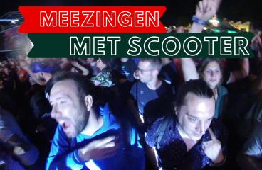 live meezingen met Scooter!