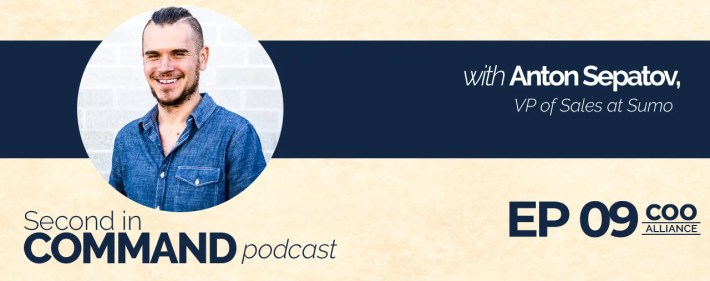 Second In Command Podcast - Anton Sepatov (COO Alliance)