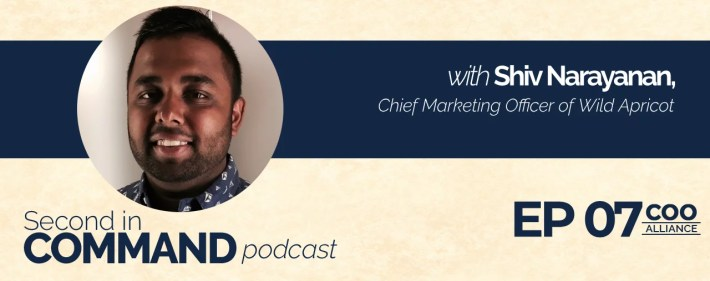 Second In Command Podcast - Shiv Narayanan (COO Alliance)