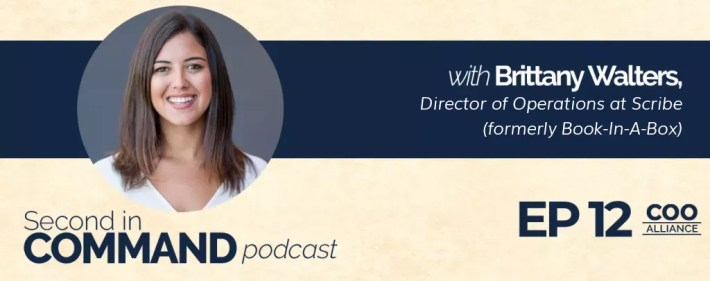 Second In Command Podcast - Brittany Walters (COO Alliance)