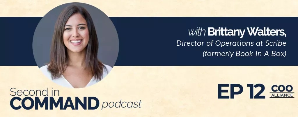 Ep. 12 - Scribe, Formerly Book In A Box Director of Operations, Brittany Walters