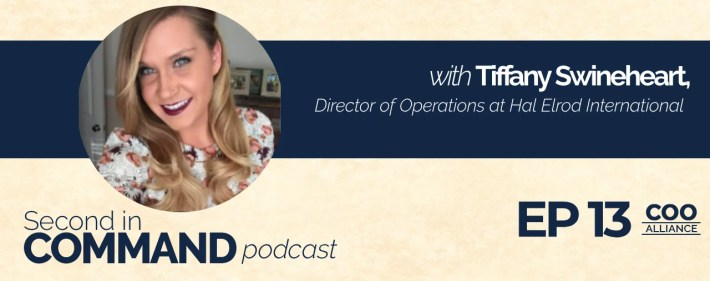 Second In Command Podcast - Tiffany Swineheart (COO Alliance)