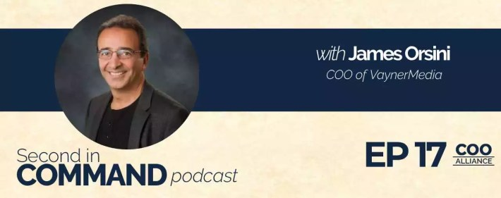 Second In Command Podcast - James Orsini (COO Alliance)
