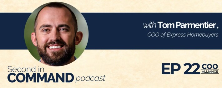 Second In Command Podcast - Tom Parmentier (COO Alliance)