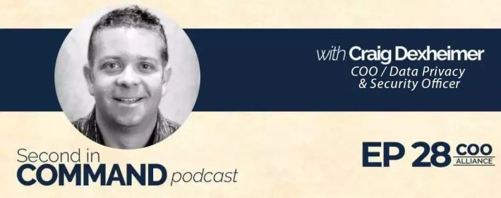 Second In Command Podcast - Craig Dexheimer (COO Alliance)