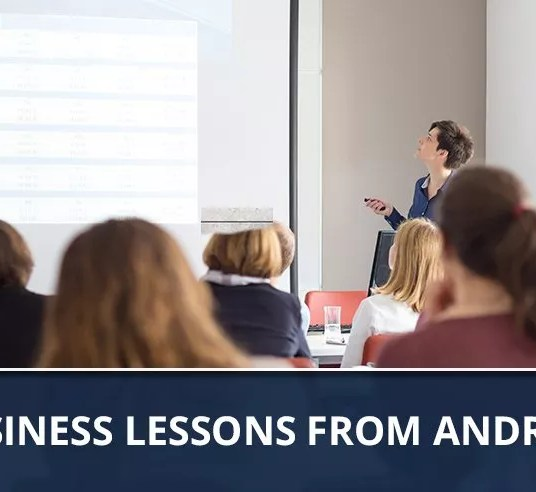 Ep. 71 - COO Business Lessons From Andrew Way
