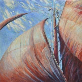 Bol van wind / ad / 62x62