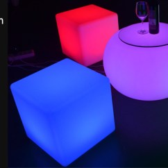 Led Table And Chairs Office Chair Carpet Protector Uk Furniture Tables Ice Bucket Flower Pot Bar Counter Cubes Balloon Light Coocheer Com