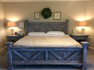 Amazing Rustic Farmhouse Master Bedroom Ideas 13